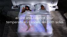 Crean un colchón inteligente capaz de generar microclimas independientes en cada lado de la cama