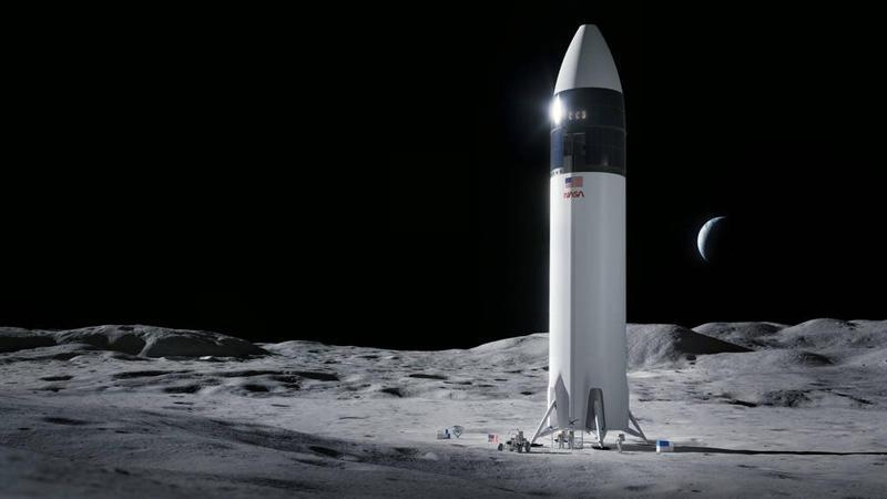 SpaceX wins $2.9 billion contract for NASA moon lander