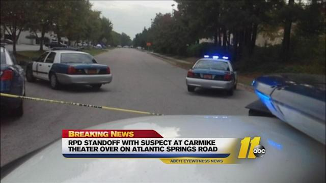Arrests in standoff at Raleigh movie theater