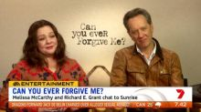 Richard E. Grant and Melissa McCarthy on 'Can You Ever Forgive Me?'