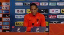 Van Dijk makes no excuses for Dutch defeat to Italy