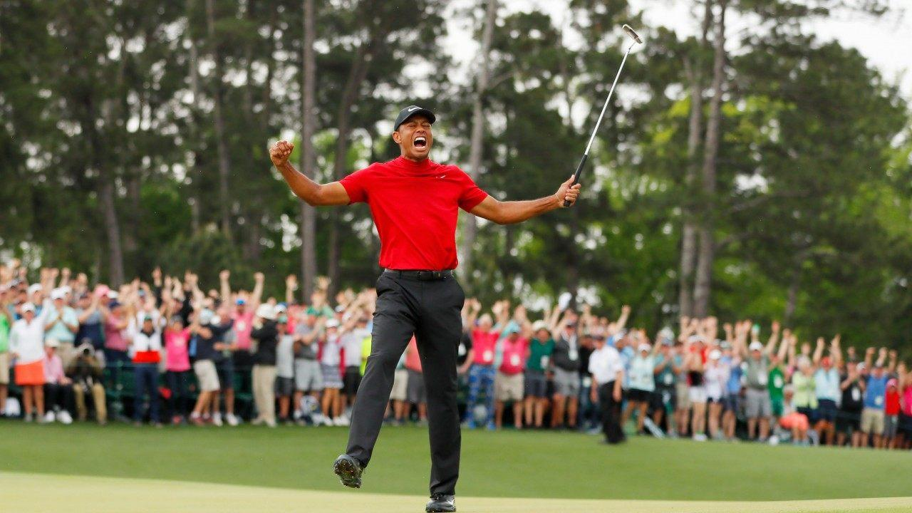 Tiger Woods Celebrates 2019 Masters Win by Giving Son ...