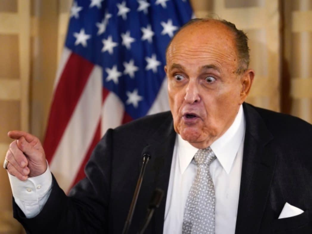 "Former Mayor Rudy Giuliani faced fire for saying Chancellor Richard Carranza ""belongs in Cuba."" Carranza is a Mexican-American from Arizona."