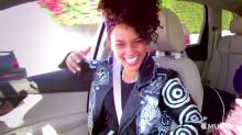 Alicia Keys uses natural deodorant