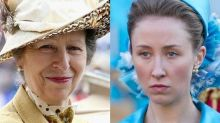 Princess Anne has watched The Crown but mocks actress playing her for taking two hours to perfect hairstyle
