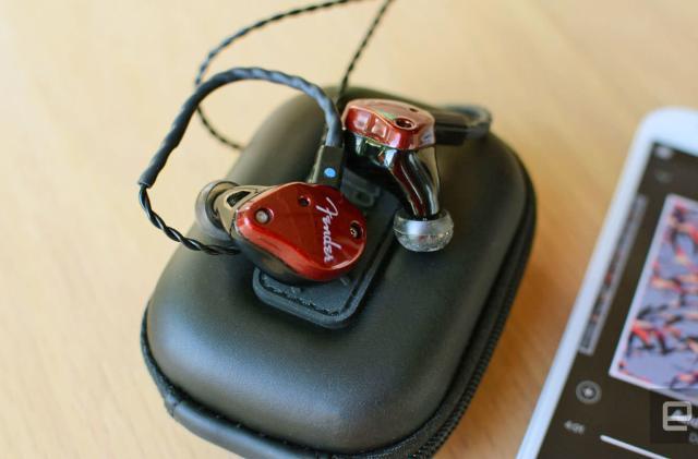 Fender is making headphones the way it builds guitars