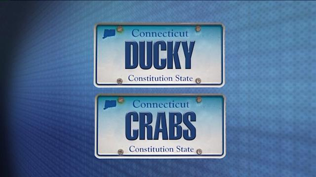 `Ducky,` Other Odd Phrases Banned From License Plates