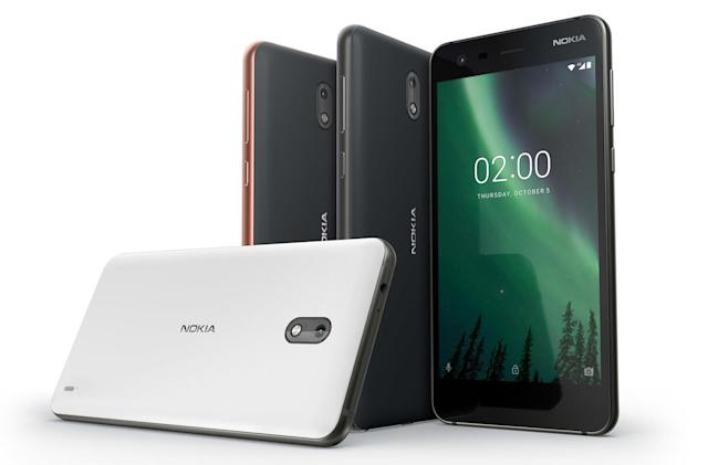 The Nokia 2 is a very cheap Android phone with a huge battery