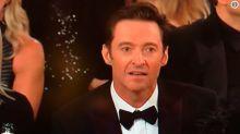 La cara de Hugh Jackman tras perder contra James Franco es todo un poema