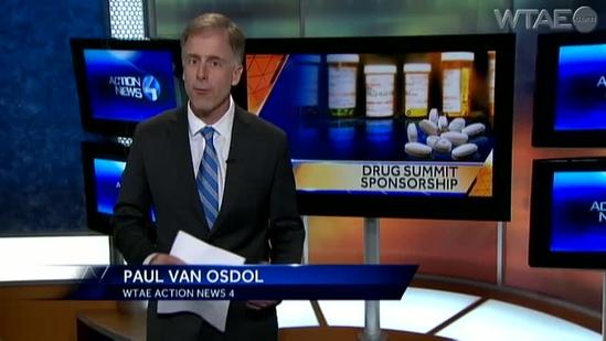 Drug company behind drug summit pled guilty to misleading public about Oxycontin