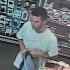 He stole from an FBI agent and used his credit card. Now police need help finding him.