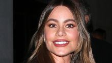 Sofia Vergara Gives Her Walmart Skinny Jeans an Edgy Twist in a Moto Leather Jacket
