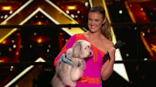 BGT winner performs with new dog on America's Got Talent: The Champions