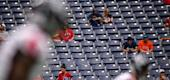 Fans in the stands at NRG Stadium. (Getty Images)