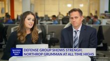 Defense Group Shows Strength; NOC At All Time Highs