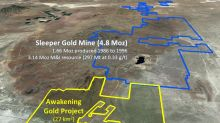 Nevada Exploration Acquires Additional 25 Square Kilometres North of Sleeper Gold Mine, Awakening Mining District, Nevada