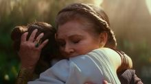 La hija de Carrie Fisher interpretó a la Princesa Leia en 'Star Wars: el ascenso de Skywalker'