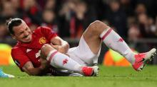 Injured Zlatan Ibrahimovic pledges to be back: 'Giving up is not an option'