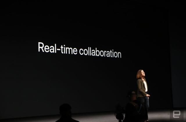 Apple adds real-time collaboration to iWork