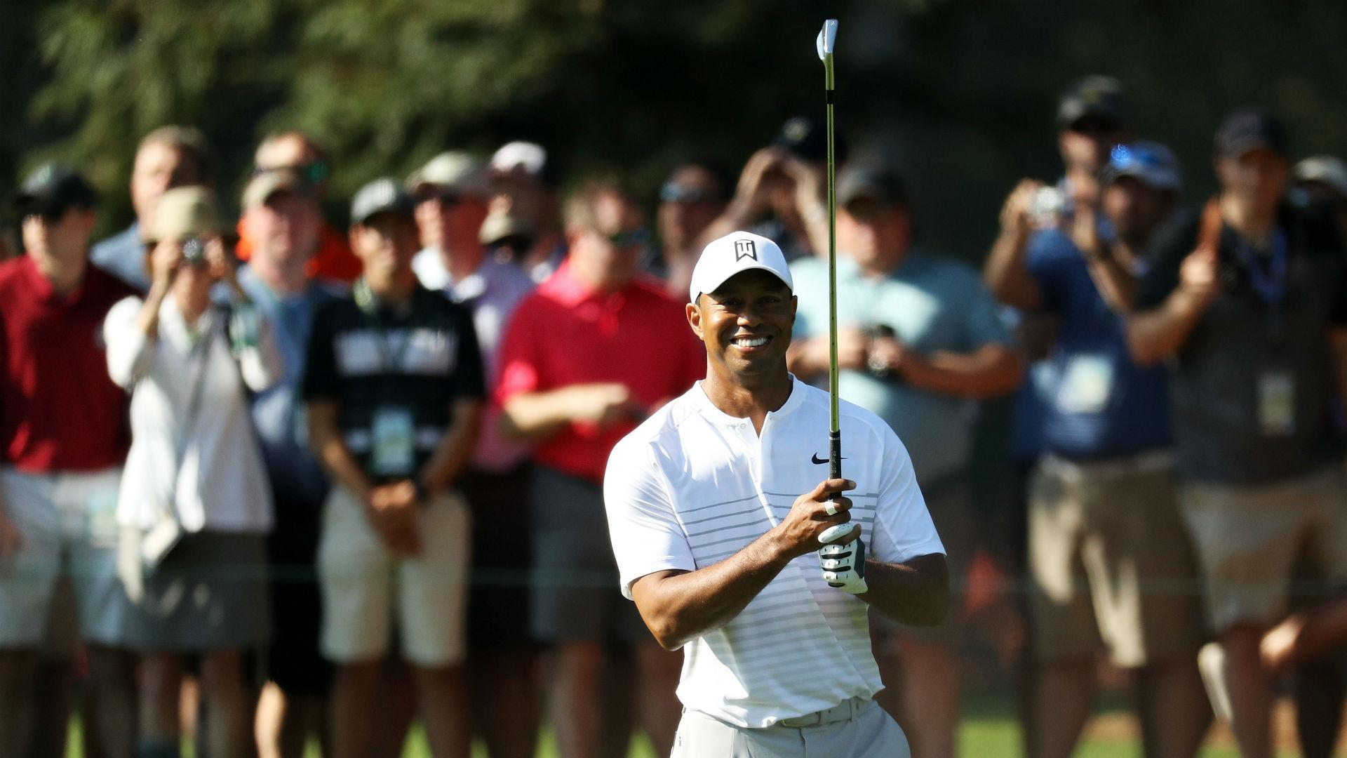 woods grouped with fleetwood and leishman at masters
