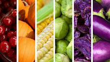 'Eat the rainbow' this Thanksgiving with in-season fruits and vegetables