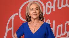 """Betty Faria lamenta situação de Regina Duarte: """"Apanhou bastante"""""""