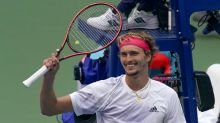 Alexander Zverev overcomes slow start to beat Borna Coric at US Open