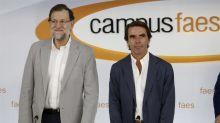 Casado pone a Rajoy en un aprieto con Aznar