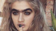 Así es Sophia Hadjipanteli, la modelo uniceja del momento