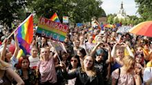Polish ruling party whips up LGBTQ hatred ahead of elections amid 'gay-free' zones and Pride march attacks