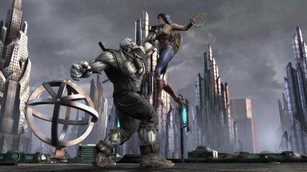 Get pummeled by 15 minutes of Injustice: Gods Among us footage