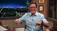 Stephen Colbert moves 'The Late Show' out of his house but not back into the Ed Sullivan Theater studio