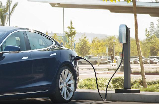 Tesla wants to install charging stations at your office