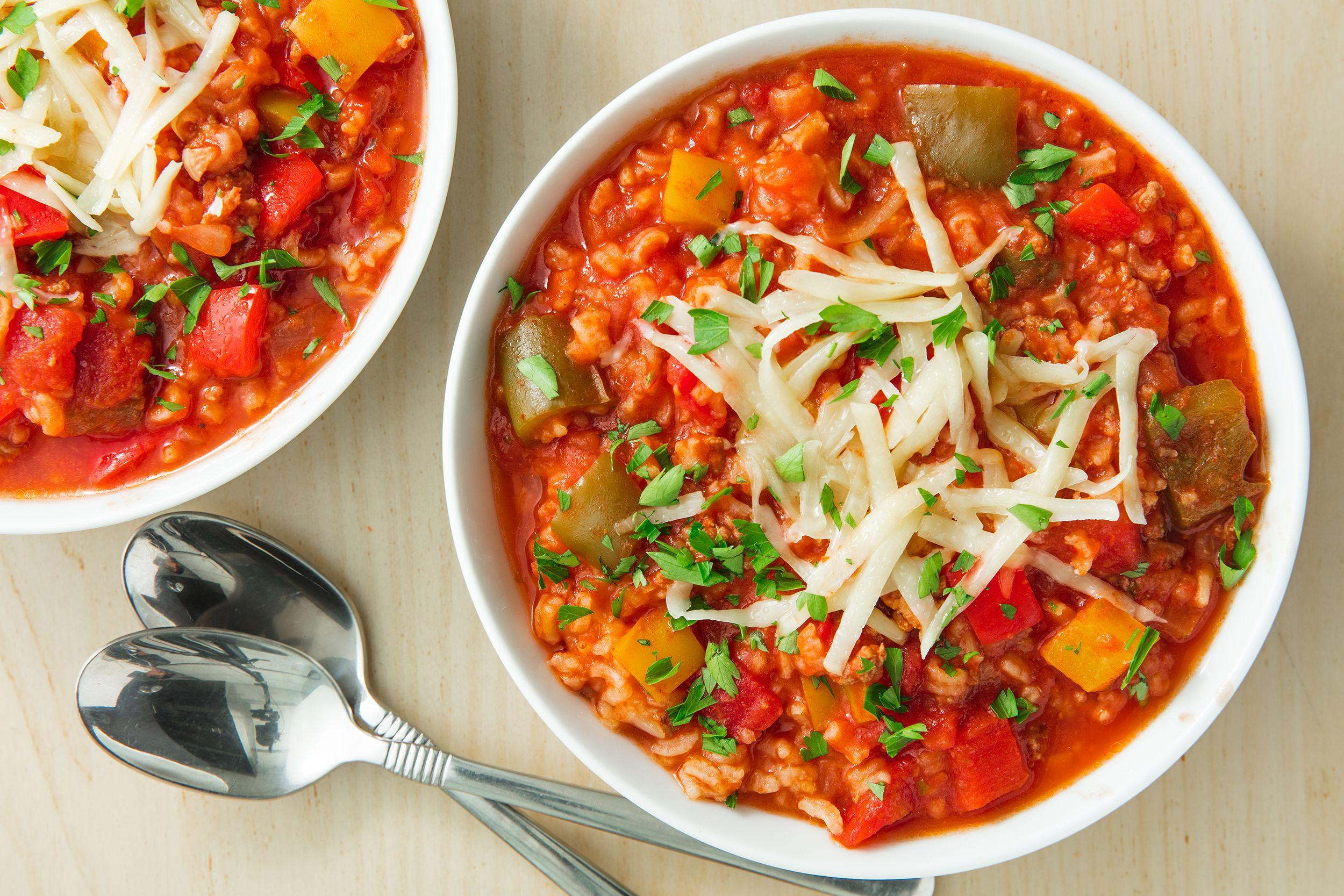 "<p>During fall, all we want to do is drink PSLs, wear sweaters, and eat soup. It's just right. These easy autumn soup recipes will warm you up with minimal time in the kitchen. For more fall-approved meals, try out our <a href=""https://www.delish.com/cooking/g1770/best-pumpkin-recipes/"" rel=""nofollow noopener"" target=""_blank"" data-ylk=""slk:favorite pumpkin recipes"" class=""link rapid-noclick-resp"">favorite pumpkin recipes</a> and <a href=""https://www.delish.com/holiday-recipes/halloween/g151/halloween-desserts/"" rel=""nofollow noopener"" target=""_blank"" data-ylk=""slk:Halloween desserts"" class=""link rapid-noclick-resp"">Halloween desserts</a>.</p>"