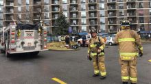 Highrise residents temporarily homeless after fire