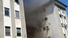 Incêndio atinge o Hospital Federal de Bonsucesso, no Rio