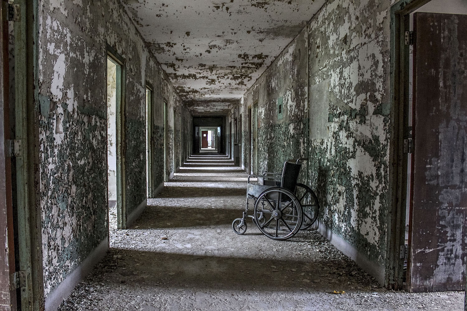 Image result for psychiatric hospital abandoned