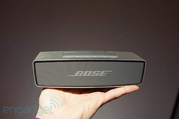 Bose unveils SoundLink Mini Bluetooth speaker, QuietComfort 20 noise-cancelling in-ears (ears-on)