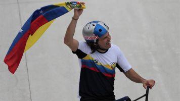 """El venezolano Dhers nunca soñó ser olímpico, pero """"hay gasolina en el tanque"""""""