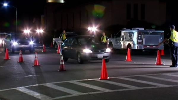 Bay Area police crackdown on DUIs this weekend