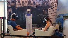 VR電影頭轉不停 觀影感動再升級 雄影「高雄VR Film Lab」強烈視覺衝擊港都