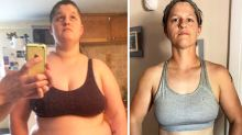Woman's incredible 50kg weight loss after emotional journey