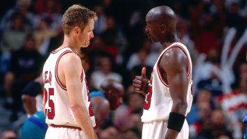 Steve Kerr recalls when Jordan punched him