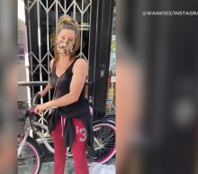 'She was really the hero' - woman helps block Santa Monica looters