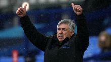Carlo Ancelotti admits Everton are not equal with Liverpool despite draw