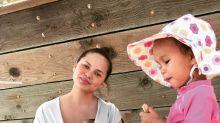 Chrissy Teigen shares a slightly scary side effect of breastfeeding