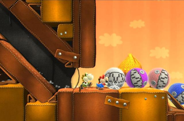 Playdate: We're exploring 'Yoshi's Woolly World'