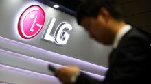 LG Electronics jumps more than 4% even as the broader Kospi tumbles