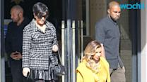 Kris Jenner and Kanye West Caught Sleeping Together on a Train?!