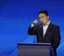 Andrew Yang's campaign says over 450,000 people have entered debate contest